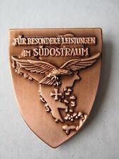 Pin Für Besondere Leistungen im Südostraum Reichsadler WWII WK2 WK1 WH Wehrmacht