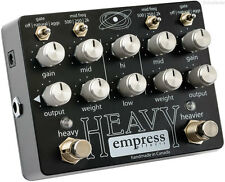 NEW EMPRESS EFFECTS HEAVY DISTORTION PEDAL w/ FREE CABLE FREE US SHIPPING