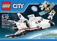 Lego City Space Port 60078 UTILITY SHUTTLE Astronaut Satellite Solar wings NEW!