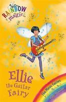 Ellie the Guitar Fairy (Rainbow Magic) by Daisy Meadows, Good Used Book (Paperba