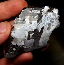 BEAUTIFUL 374 GM. ETCHED CAMPO DEL CIELO METEORITE END CUT