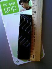SCUNCI NO SLIP GRIP CLASP HAIR BARRETTE (37966-A) Black