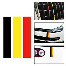GERMAN GERMANY FLAG Car Stripe Sticker Exterior Decal For BMW Volkswagen