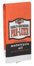 Harley-Davidson Pre-Luxe Bar Towel, 22 x 32 inches, Orange & Black Hdl-18571