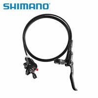 SHIMANO Hydraulic Disc Brake MTB Bike Brake Set Front and Rear Black BR+BL-MT200