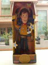 "NEW Disney Pixar Toy Story Plush Toy WOODY Talking Stuffed Doll Figure 15"" 3+"