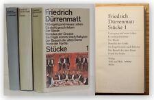 Friedrich Dürrenmatt Stücke 1983 3 Bde Belletristik ua. Die Physiker xy
