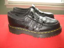 Dr Martens FREVA w/ AirWair Women's Black Leather Shoes 3 Strap Sz US 7 EUR 38