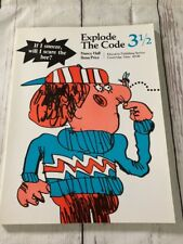 Explode the Code/Book Three and One Half by Hall, Nancy