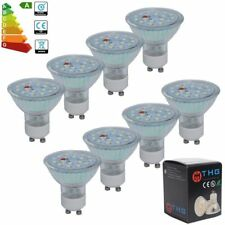 4er/10er GU10 LED Birne Leuchtmittel SMD Lampe Strahler Licht Spot Birnen 5W=50W