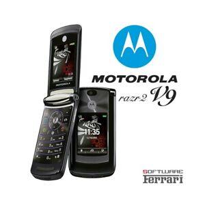 Phone Mobile Phone Motorola RAZR2 V9 Black Umts Camera Top Quality