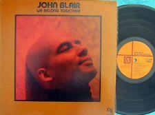 John Blair ORIG US LP We belong together NM '77 CTI 75004 Jazz Funk Soul