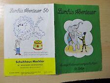 Original  LURCHIS  Abenteuer-Heft  56. Folge !!
