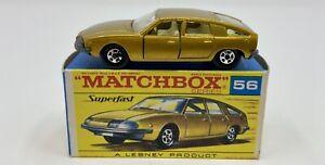 Matchbox Superfast No. 56 BMC 1800 Pinnfarina in Original 'F2' Box