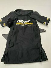 INZER ADVANCE DESIGNS Black Double Layer Open Back W/Straps Shirt S?