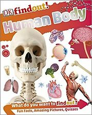 HUMAN BODY FACTS & LEARNING BOOK FOR KEYS STAGE 2 BY DK FINDOUT PB BOOK