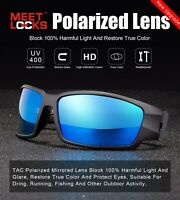 MEETLOCKS Polarized Sunglasses TAC Lens For Men Outdoor Sports UV Protection