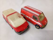 Assorted Matchbox vans