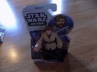"Star Wars Jedi Force Playskool Heroes Obi-Wan Kenobi 5"" Action Figure New"