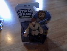 "Star Wars Jedi Force Playskool Heroes Obi-Wan Kenobi 5"" Action Figure New"
