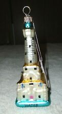 Water Tower Building Glass Christmas Ornament Decoration Chicago Landmark