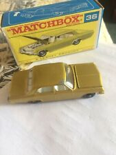 1960s.Matchbox.Lesney.36,OPEL,Vauxhall Diplomat BPW  in box.Original