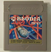 Blodia / Timeball (Nintendo Game Boy GB, 1990) Japan Import