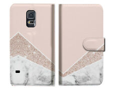 Marble Shape Stone Wallet Case Cover For Samsung Galaxy S5 - A032