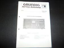 Original Service Manual Schaltplan Grundig Satellit 600