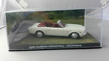 FORD MUSTANG CONVERTIBLE WHITE JAMES BOND 007 GOLDFINGER 1:43 CAR MINT IN BOX