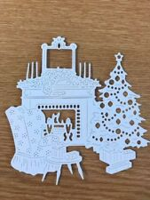 Tattered Lace - Art Deco Home For Christmas Die Cuts X 2