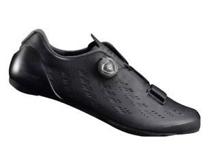 Shimano SH-RP9 Carbon Road Cycling Shoes Boa Mens Sz 42 US 8.3 M SH-RP901 Black