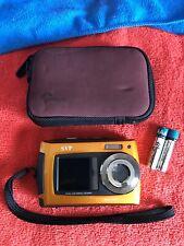 SVP 2.7 inch Dual Screen Orange Aqua5800 Underwater Camera~~NICE~~
