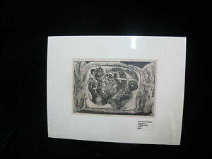 CHARLES HEANEY Oregon Signed Etching Limited Edition AQUARIUM 1950