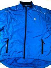 Canari Microlight Shell Cycling Jacket XX-Large Mens Blue Black Reflective EUC
