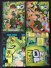 Ben 10 Merlin Sticker Album (2 ALBUMS - 1 Fully Complete of Stickers!) + Posters