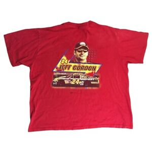Jeff Gordon Red T-shirt #24 Dupont XL Winners Circle Nascar Extra Large