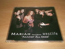 MARIAH FEAT. WESTLIFE - AGAINST ALL ODDS - CD SINGLE EXCELLENT