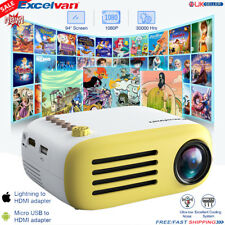 Mini Multimedia Projector YG200 3D HD LED Home Theater Cinema 1080p AV USB HDMI