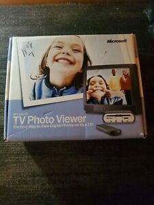 Microsoft TV Photo Viewer with Remote & CD -View Digital Photos open Box