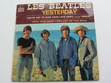 Les Beatles 1965 French E P hier ODEON 3772