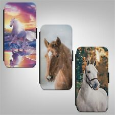 Beautiful Horse Animal FLIP WALLET PHONE CASE COVER FOR IPHONE SAMSUNG HUAWEI