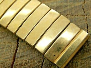 Admiral USA NOS Unused Vintage 16mm Expansion Gold Filled Watch Band