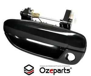 FRONT LH Left Hand OUTER Door Handle Black For Hyundai Accent LC 2000~2006