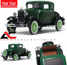 SUNSTAR SS-6133 1:18 1931 FORD MODEL A COUPE VALLEY GREEN