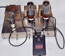 Dual Bias Current Probes Tester Meter for EL34 KT88 6L6 6V6 6550 Vacuum Tube amp
