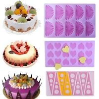 Silicone Cake Decorating Mold Fondant Candy Chocolate Cookies Baking Mould Tool