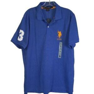 US Polo Assn Polo Shirt Men's Size Large NWT