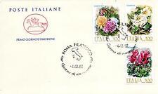 Repubblica Italiana 1982 FDC Cavallino Fiori d'Italia (Datario Errato)