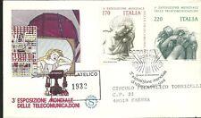 ITALIA BUSTA FILAGRANO RACCOMANDATA 1979  TELECOMUNICAZIONI IL TELEFONO FDC